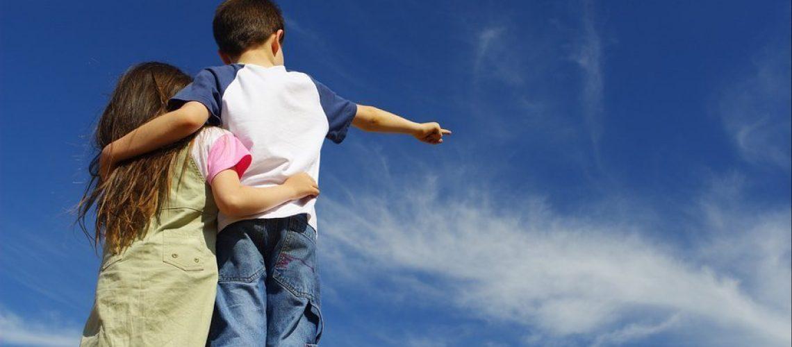 bigstockphoto_Children_On_Sky_567263